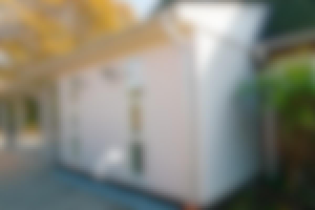 Du kan bygge et ekstra værelse på huset efter samme model.