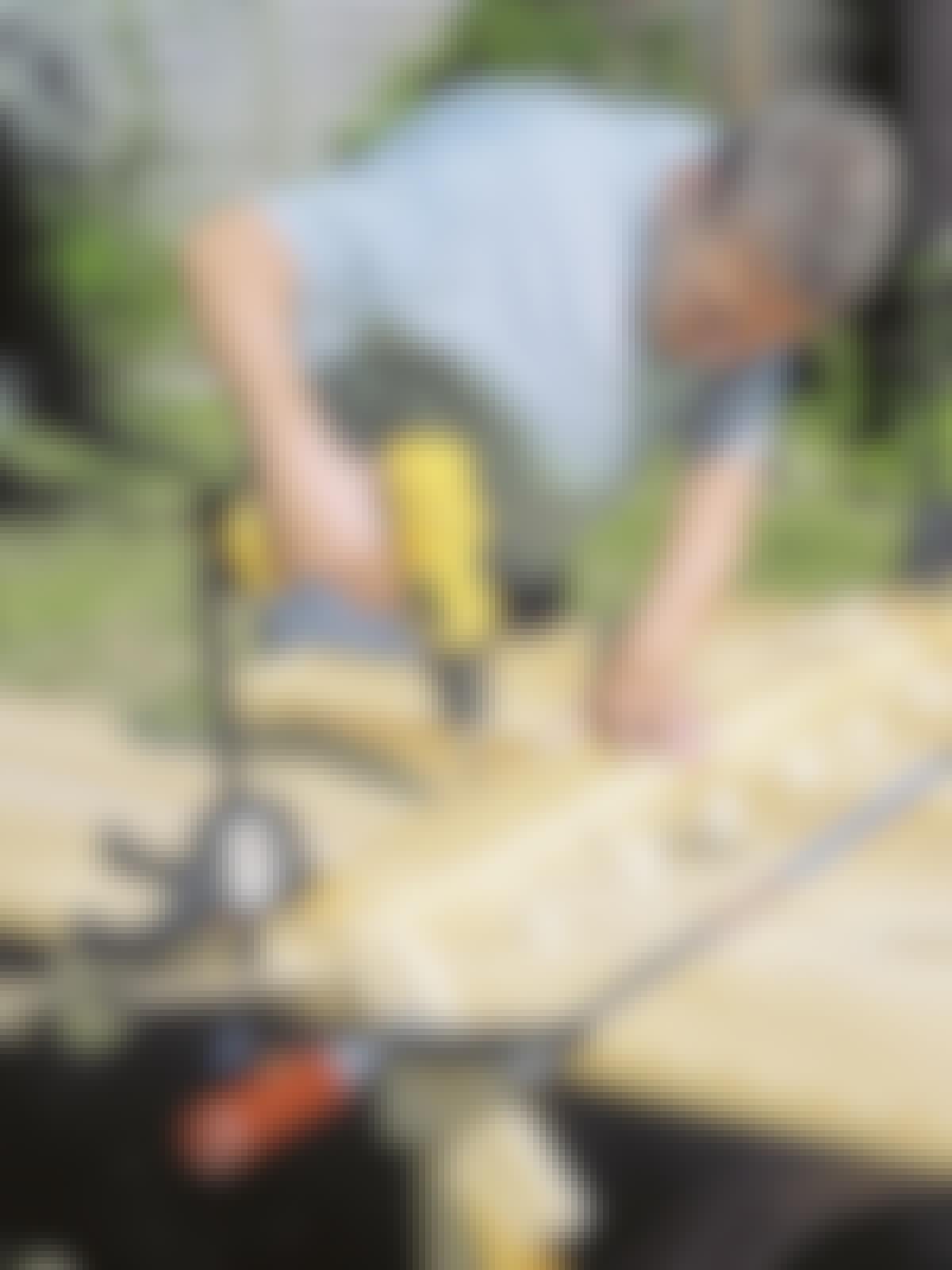 Bygga trädgårdsbord
