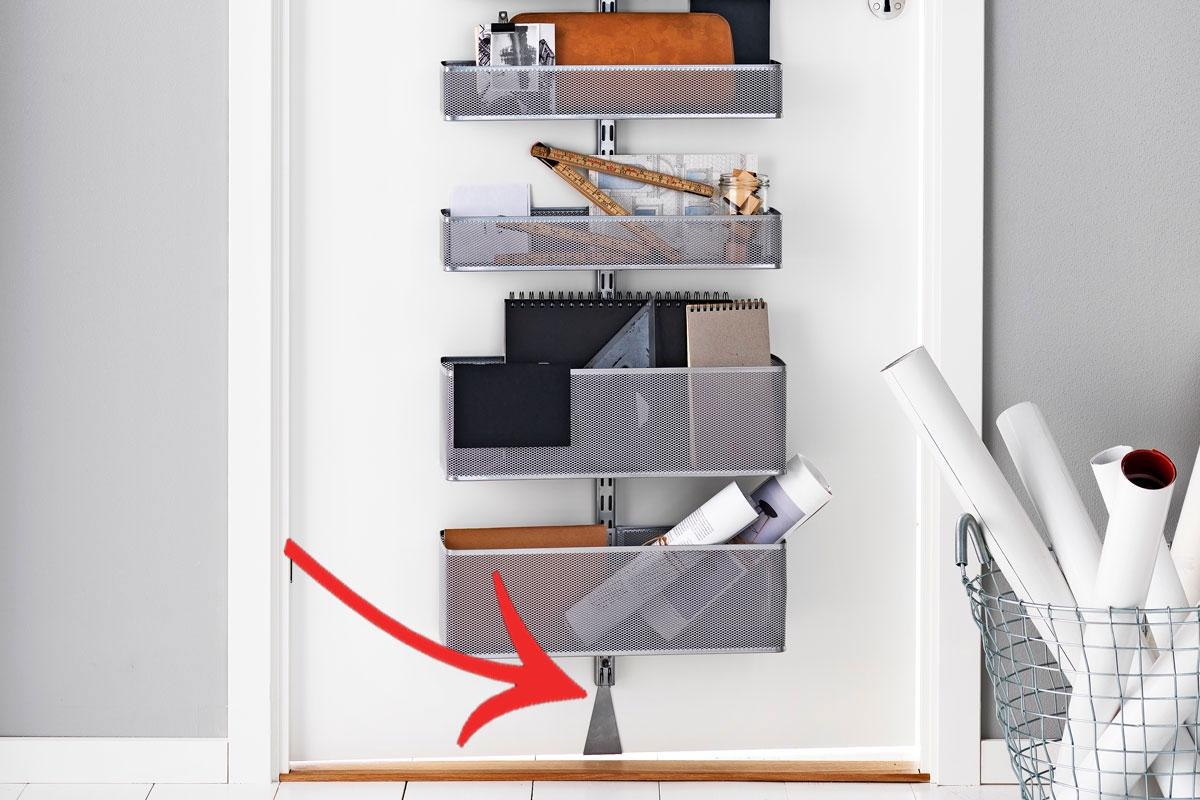 Använd dörren u2013 Så får du plats till extra förvaring Gör Det Själv