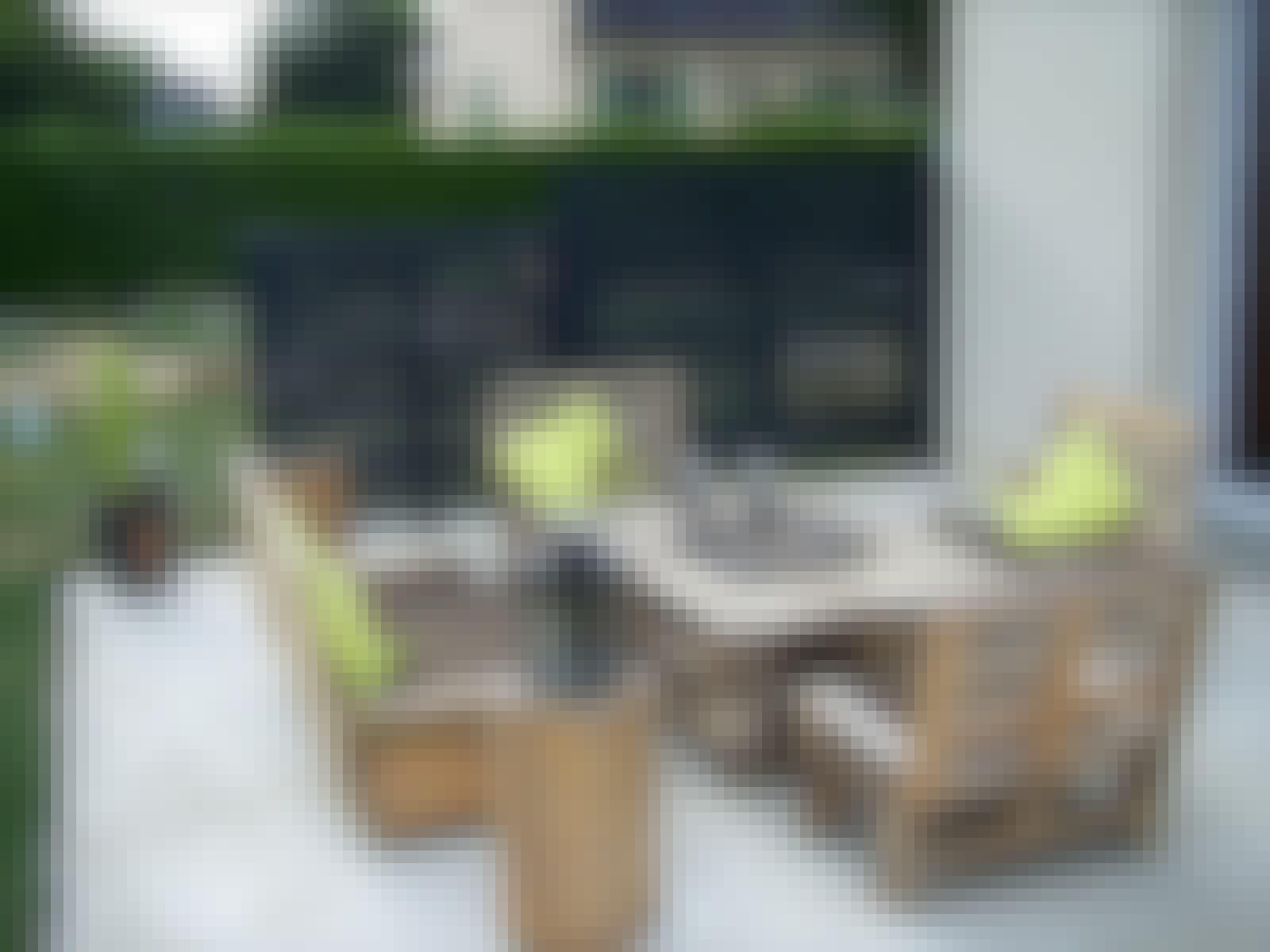 paller møbler terrasse