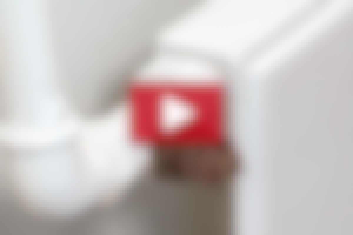 RØRLEGGER-REPARASJON: Skift en termostatventil