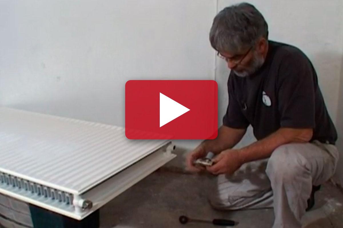 radiator kold i bunden