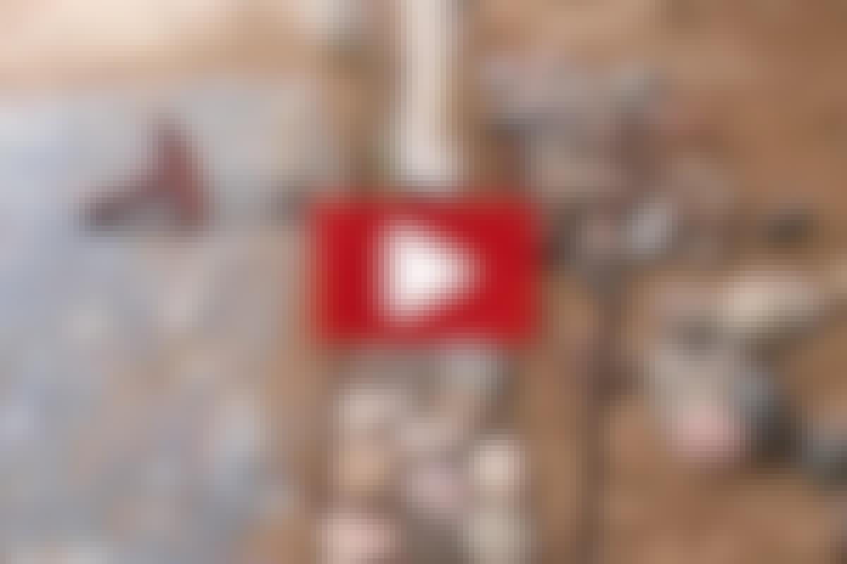 STEINLEGGER-TEKNIKK: Legg et rullesjikt