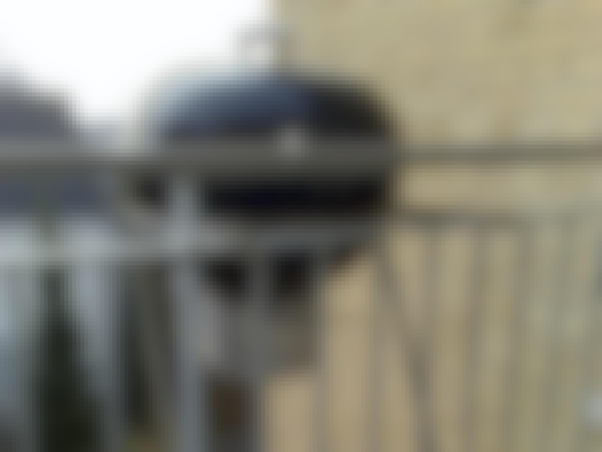 Grill altan klotgrill