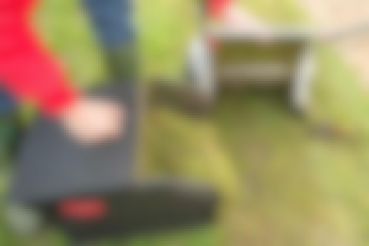 KVÄVER du gräsmattan?