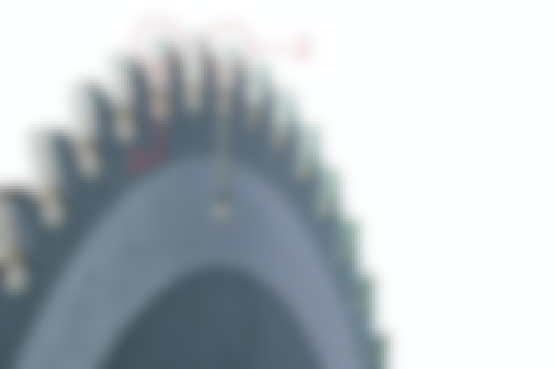1. Trapestann.  2. Flattann.  Skiftet mellom trapestann og flattann gir et veldig rent og fint snitt.