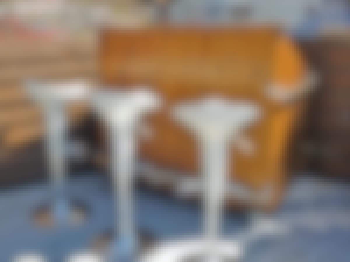 Flyttbar bar terrasse