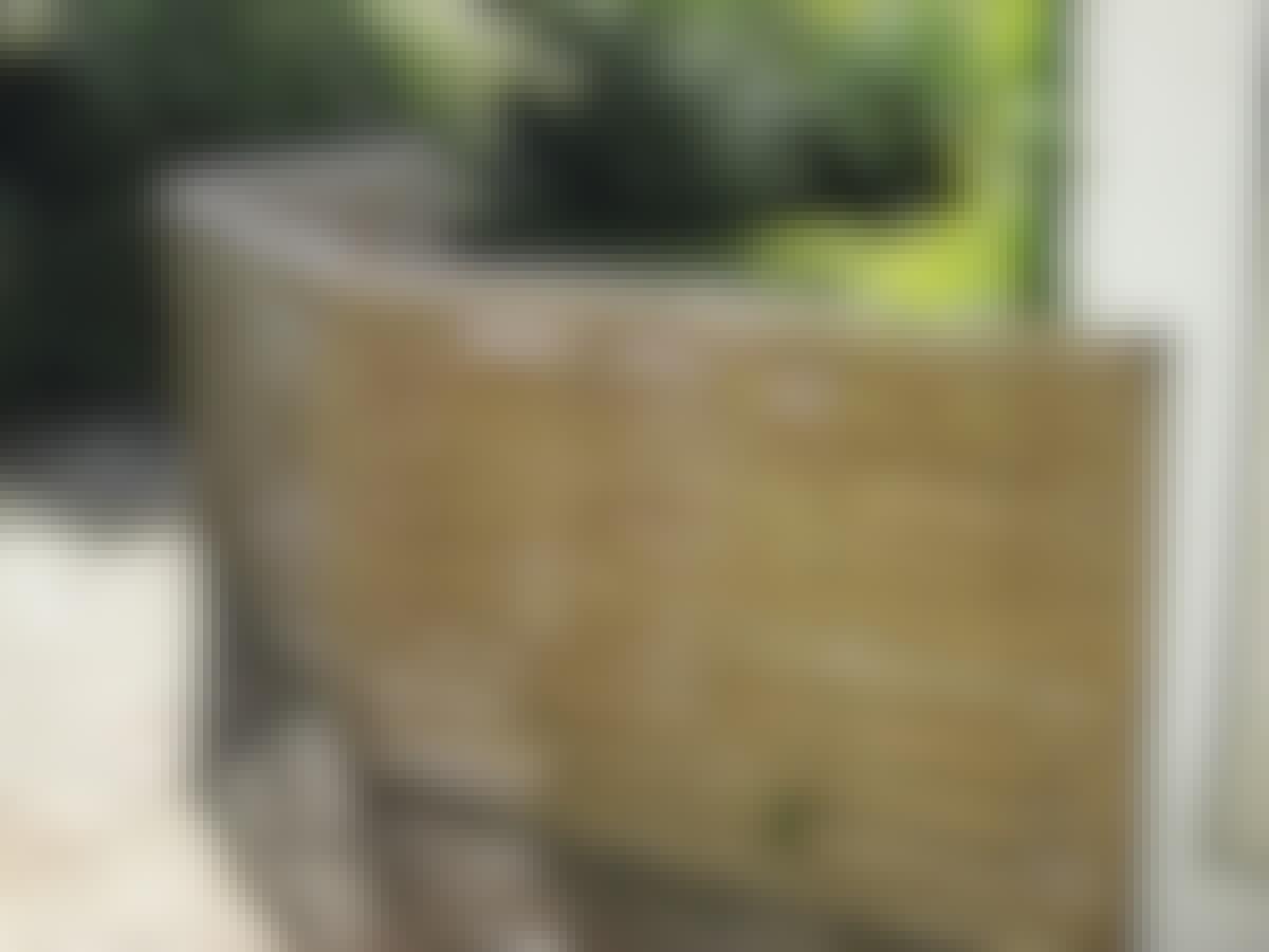 Terrasse fleksibelt hegn