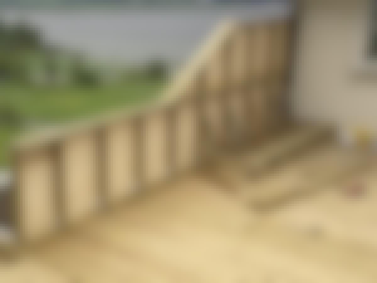 Terrasse levegg