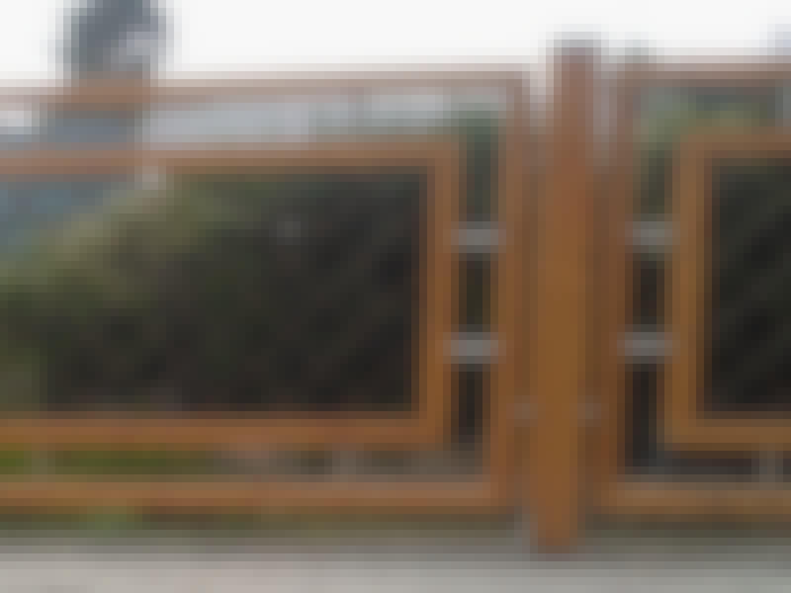 Terrasse hegn