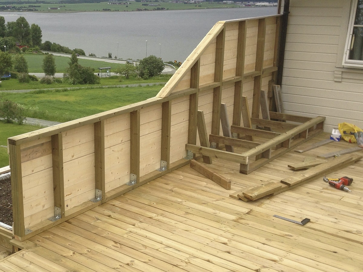 Terrasse Laesernes Bedste Ideer Til Lae Og Ly Pa Terrassen Gor Det Selv