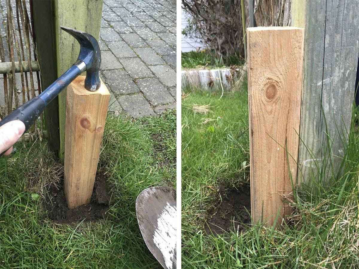 Omtyckta Staket: Rätta till ditt lutande staket | Gör Det Själv IG-21