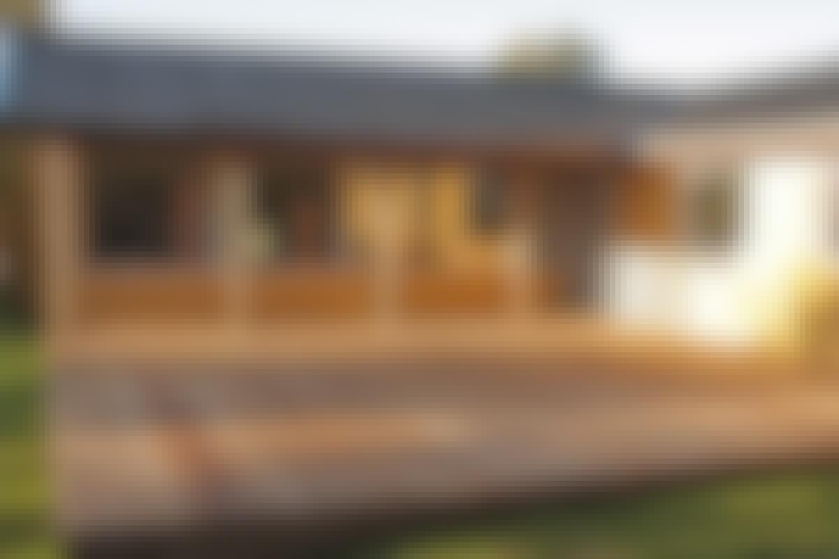 Voilà. 66 kvadratmeter träaltan – och snygg är den!