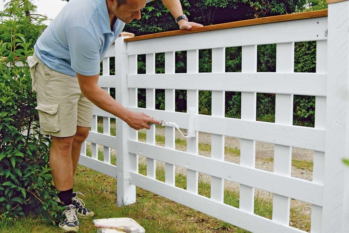 Staket Vilket staketär snyggt på båda sidor? Gör Det Själv