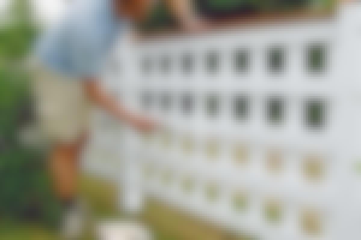Vilket staket är snyggt på båda sidor?
