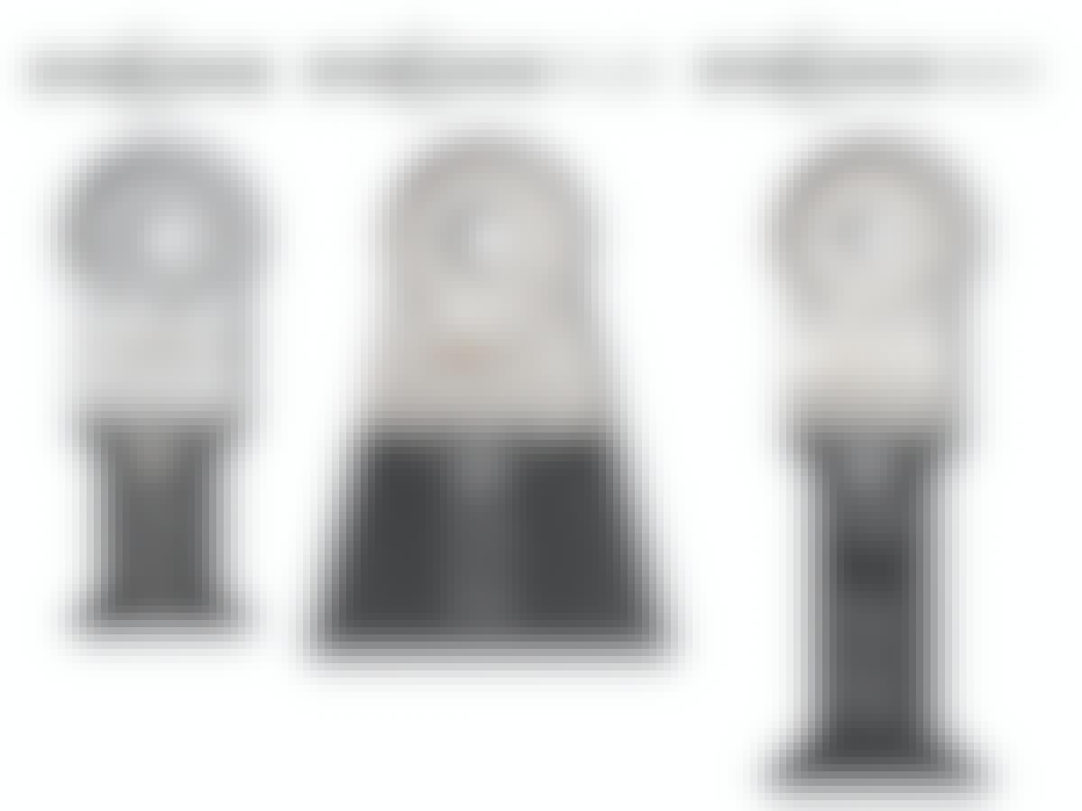 Multicutter-klinger til tre varianter af klingefæster: Starlock, Starlock PLUS og Starlock MAX