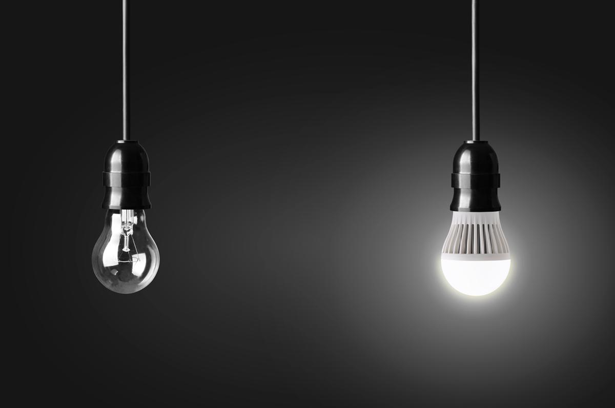 Helt nya Belysning: Led – förvisar andra ljuskällor till mörkret | Gör Det ES-49