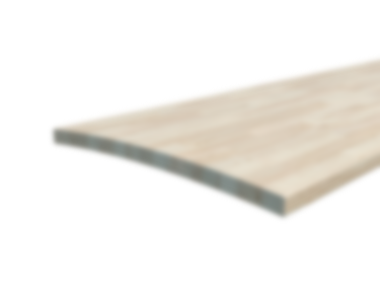 Hvorfor bliver køkkenbordet krumt?