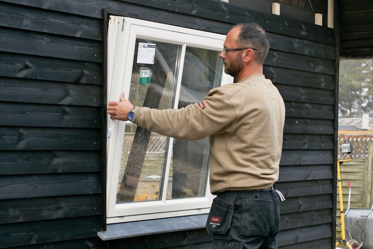 Vinduer - Monterer selv vinduerne og lær at vedligeholde dem | Gør Det Selv