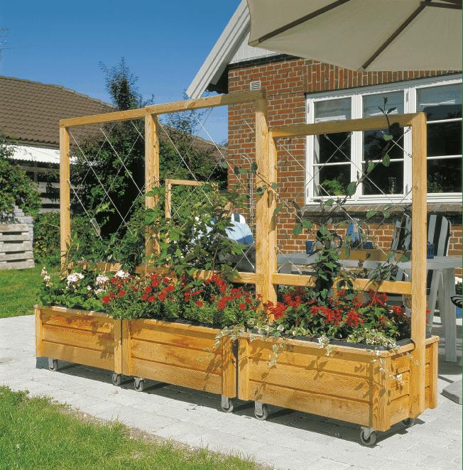 Fantastisk Plantekasser på hjul - bygg flotte plantekasser på hjul | Gjør Det DJ-67