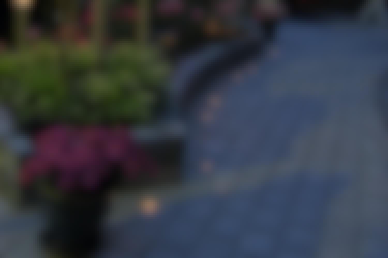 Upeita valaistuksia kuituvaloilla