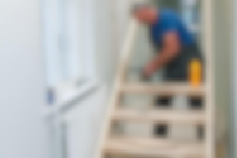 Kuinka jyrkät täydelliset portaat ovat?