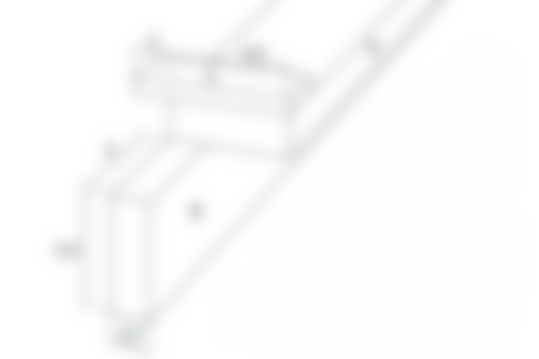 To høvlede planker (A og B) settes sammen til en vinkel. Den nederste (B) er 5 cm lenger i hver ende, så den kan spennes fast med tvinger. Skru fast en listestump (C) i hver ende. Den kan holde anlegget i nivå med emnet når det er spent på.