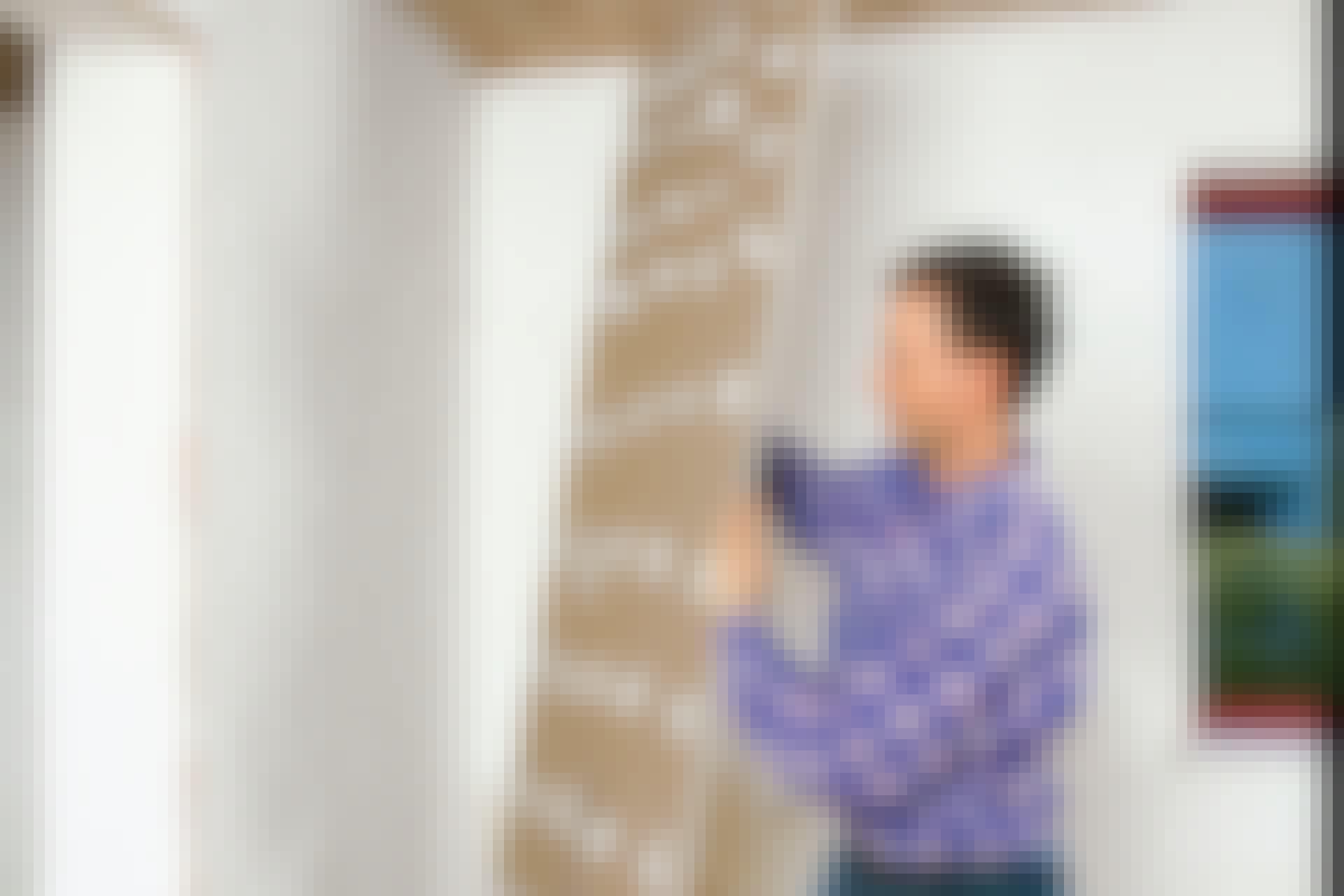 Ett enkelt sätt att jämna till den ojämna väggen?