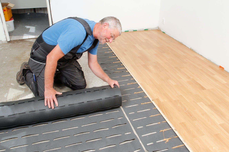 Nykomna Dämpa golvljudet med smart matta | Gör Det Själv HK-08