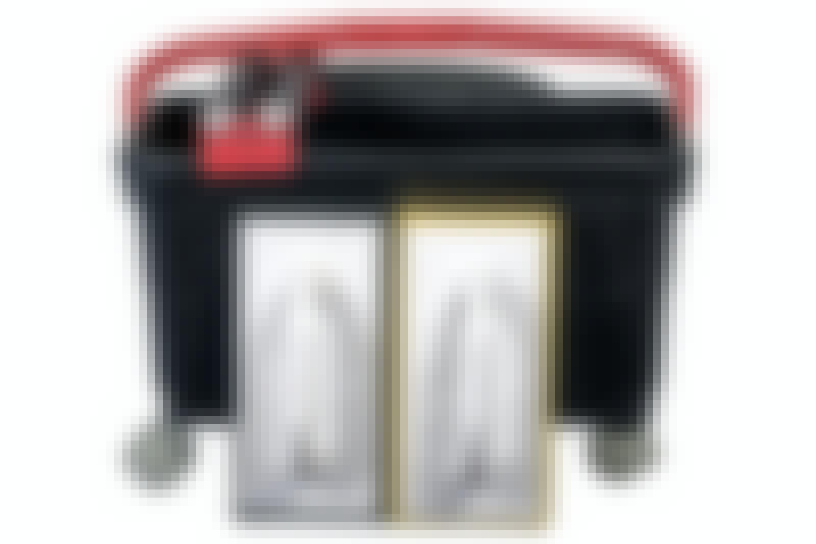 Fugning af fliser: Flisefugesæt med rullespand, skumgummibræt og gummibræt.