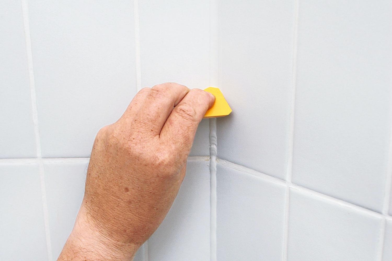 Alle nye Skift fuge i badeværelset   Gør Det Selv QN53