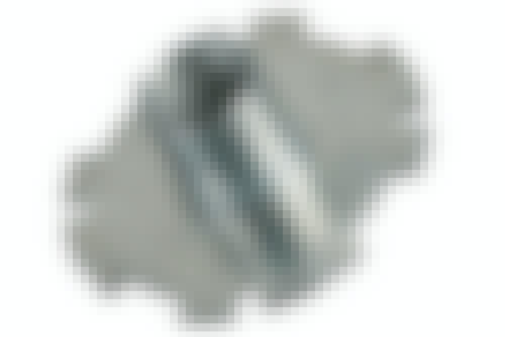Kopiring til fresestål: Settes fast til sålen på overfresen, slik at fresestålet stikker ut gjennom det.