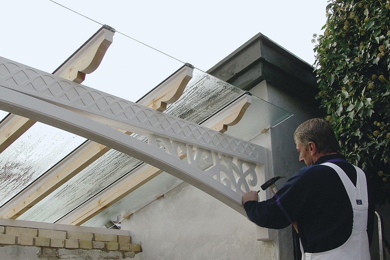 Dejlig Overdækket terrasse - Sådan bygger du den selv PL-18