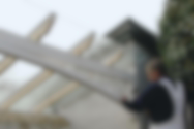 NÄIN: Lasikatto terassille