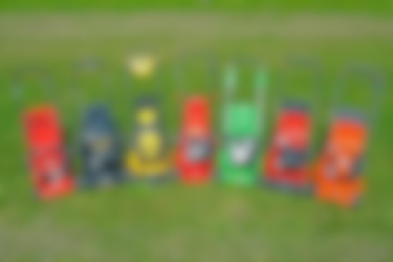 TEST: Vi tester 7 gressklippere på bensin