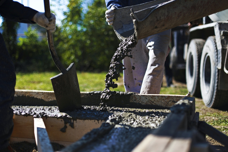 blande cement selv