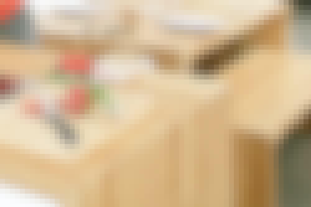 3 typiske opgaver med en lamelfræser: Bordplader