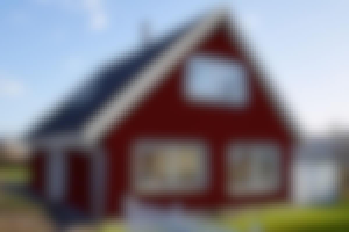 """9 SNARVEIER: """"Nytt"""" hus til en rimelig penge"""