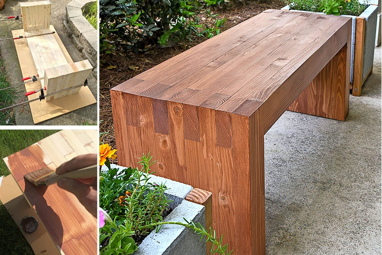 Berömda Trädgårdsbänk – bygg den själv FX-74