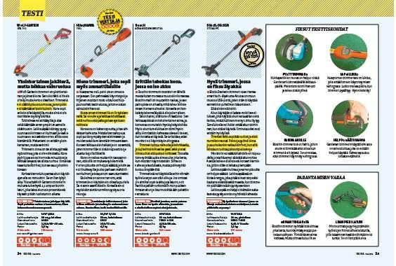 Akkutrimmeri: Testissä 7 akkutrimmeriä