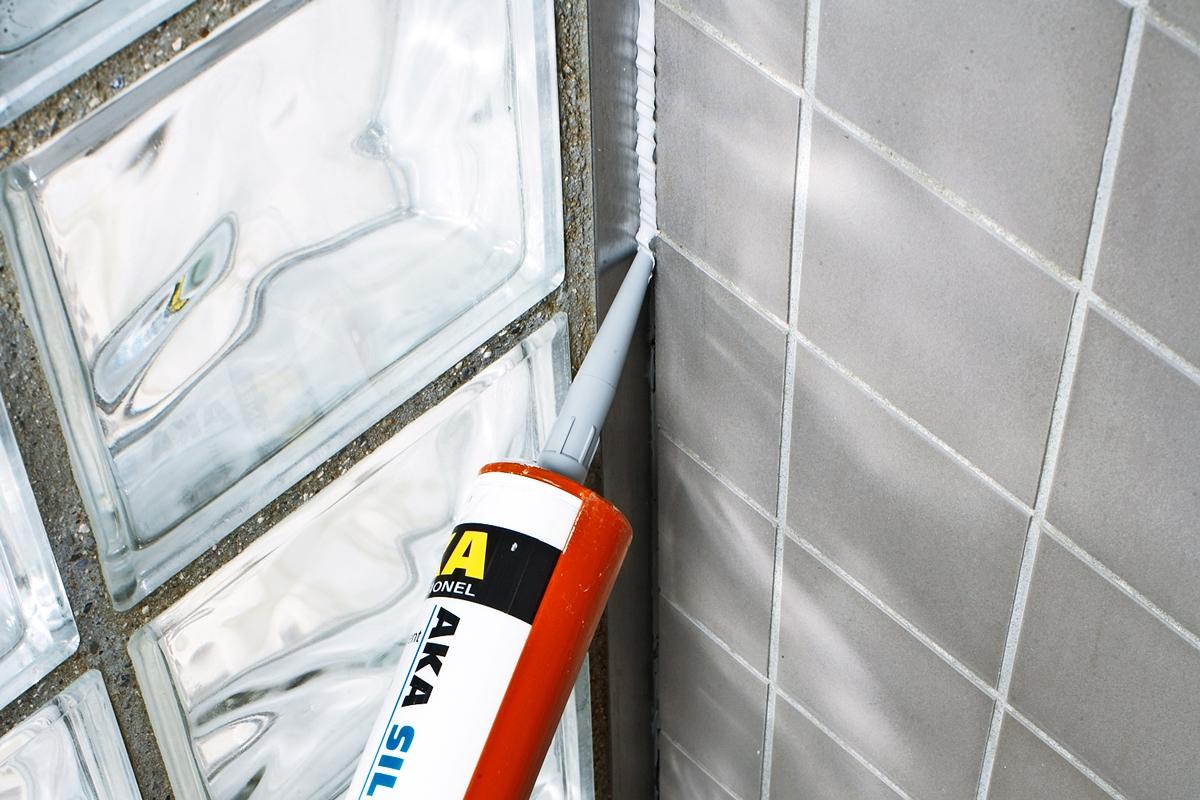 silikonin kuivuminen kylpyhuone