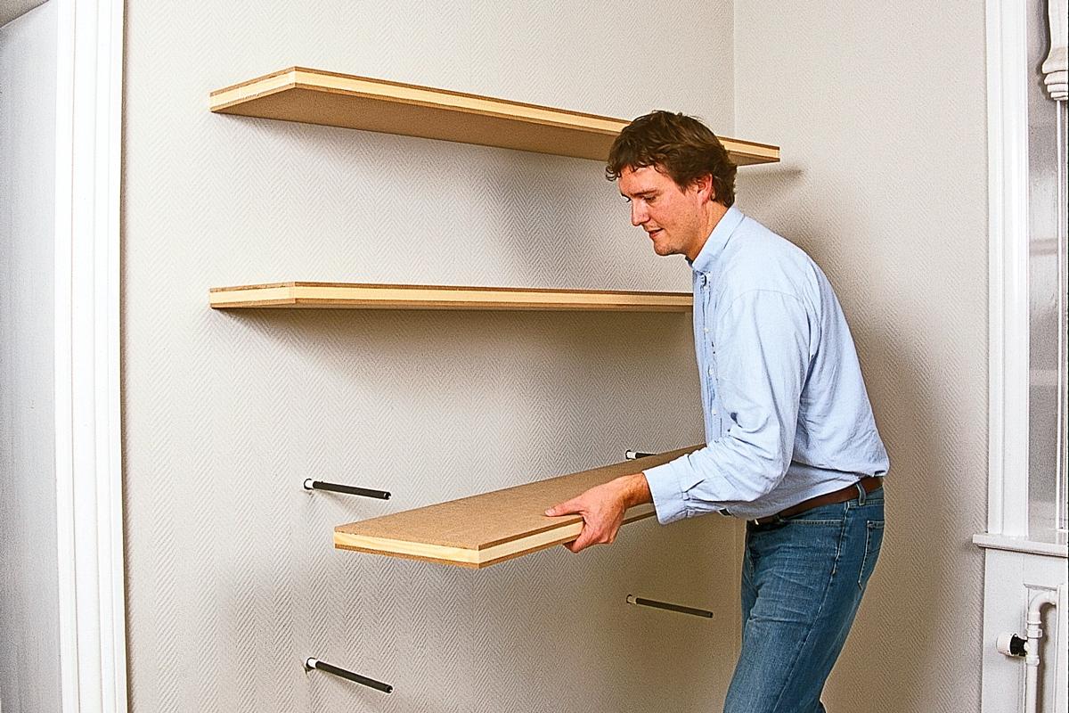 Moderne Heng opp skap og hyller på veggen | Gjør Det selv RA-58