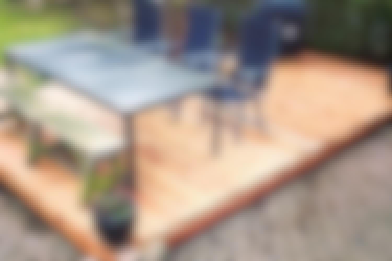 Træterrasse - sådan bygger du den nemt og hurtigt