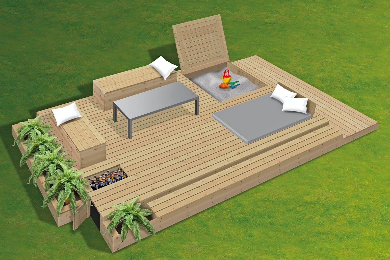 Terrasse - Byg selv terrassen
