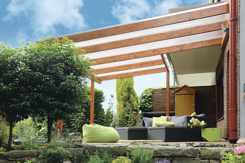 Lækker Overdækket terrasse - Sådan bygger du den selv AL-78