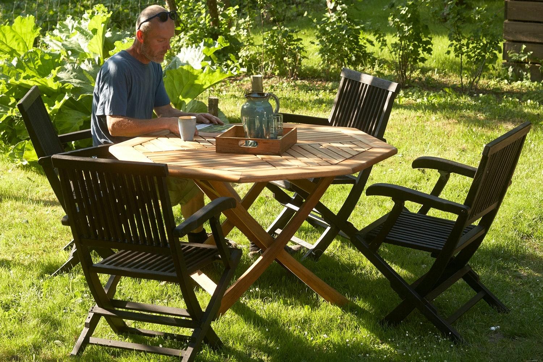 billige hagemøbler i tre