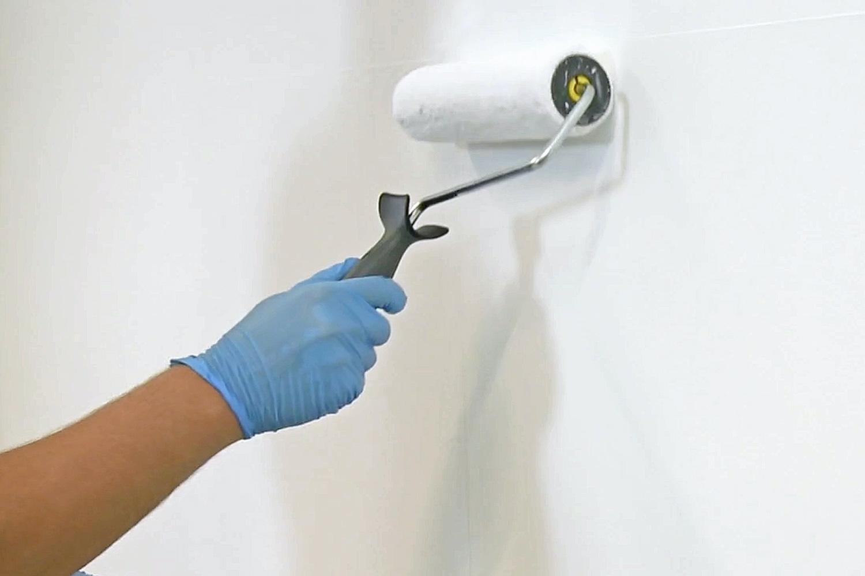 malerrulle til væg