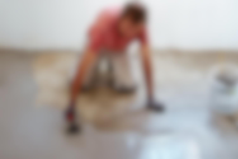 Måla dig till ett snyggt betonggolv