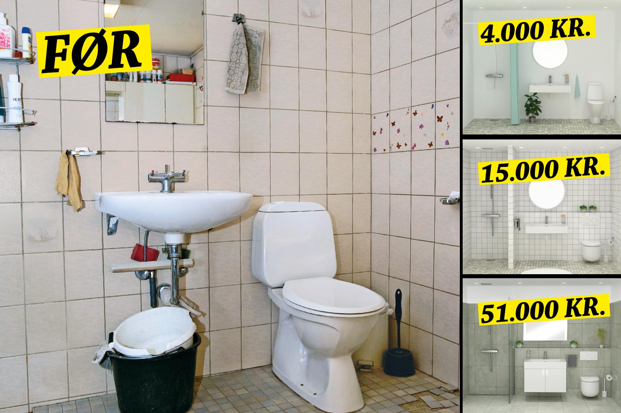 Picture of: Renovering Af Badevaerelsese Fjern Det Gamle Bad Gor Det Selv
