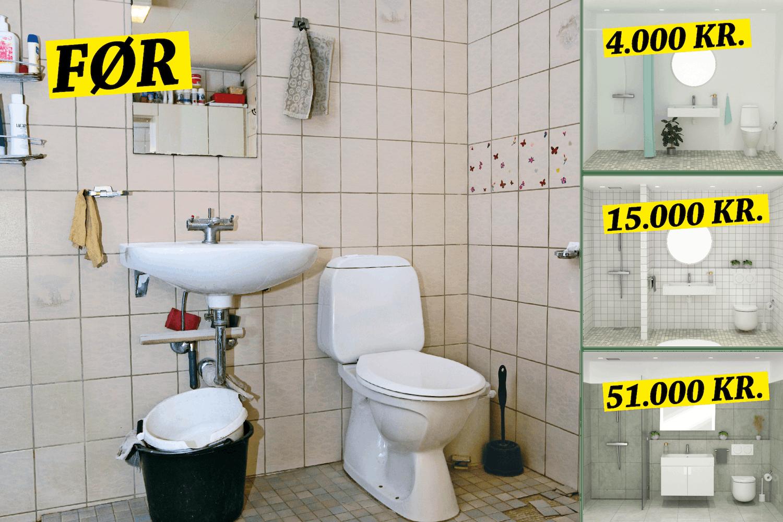 Badeværelse Byg Eller Renover Badeværelse